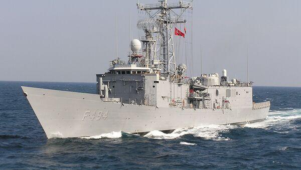 Turecká loď v Černém moři - Sputnik Česká republika