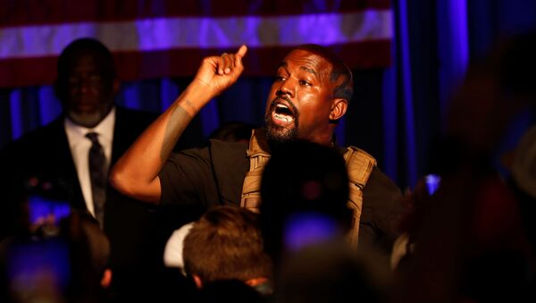 Kanye West  - Sputnik Česká republika