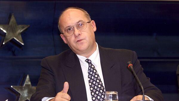 Český ministr zahraničních věcí Jan Kavan v roce 2000 - Sputnik Česká republika