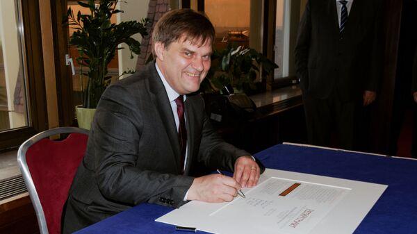 Šéf zahraničního odboru prezidentské kanceláře Rudolf Jindrák. - Sputnik Česká republika