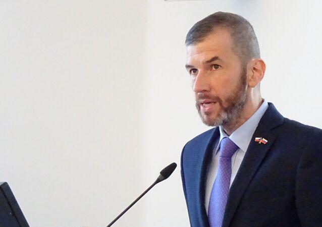 Moderátor ČT Jakub Železný