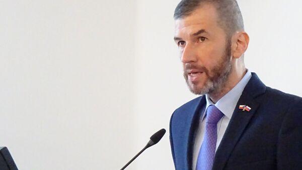 Moderátor ČT Jakub Železný - Sputnik Česká republika