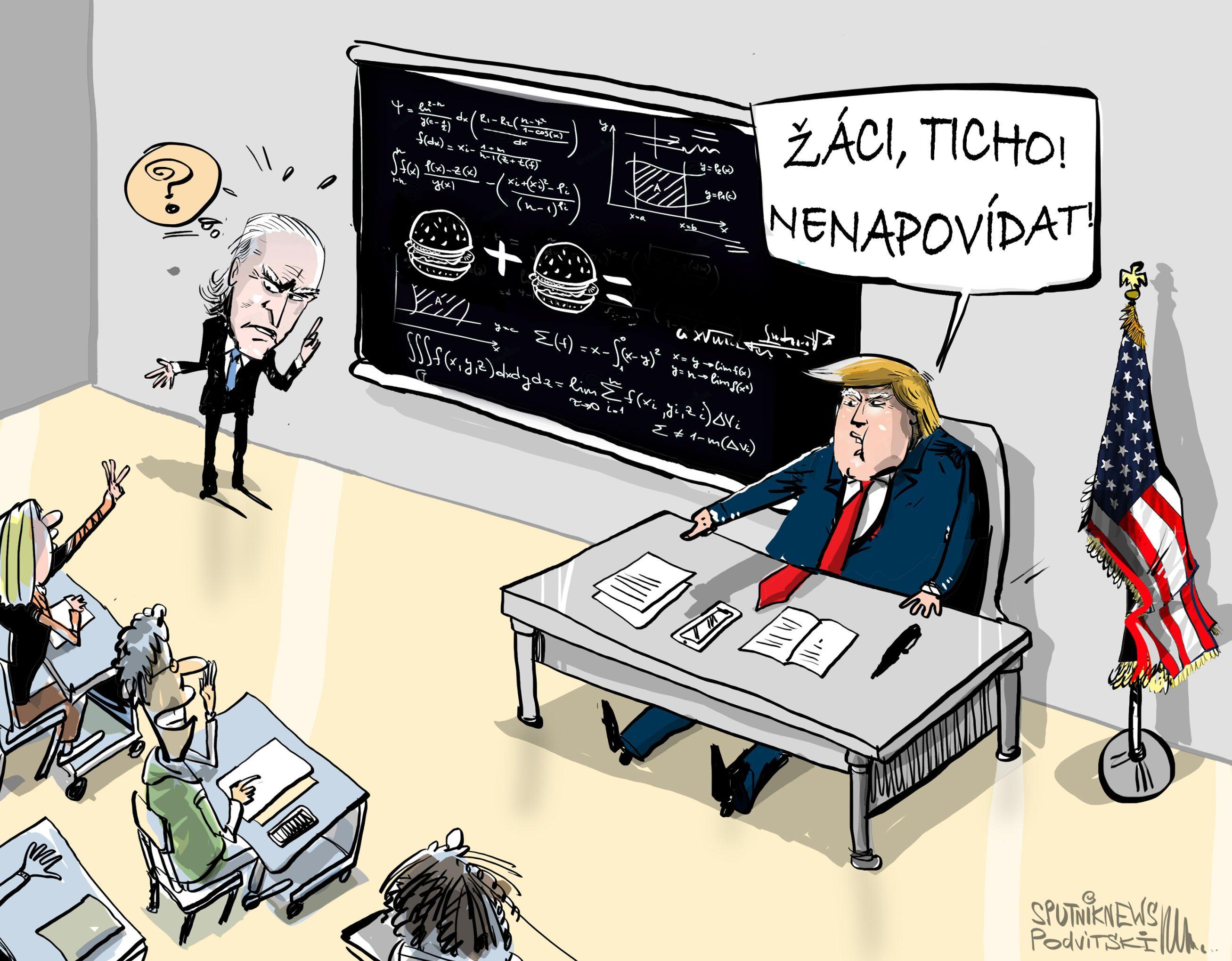 Trump: Biden musí projít testem inteligence