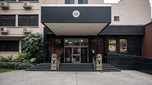 Generální konzulát USA v Čcheng-tu v provincii S'-čchuan - Sputnik Česká republika