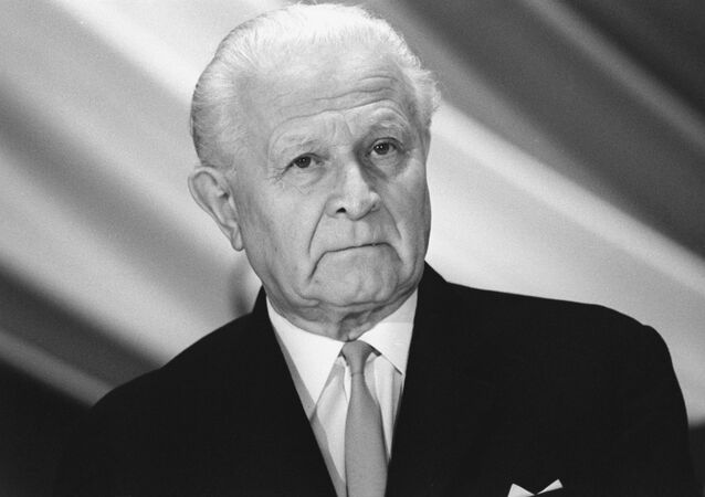 Československý prezident Ludvík Svoboda