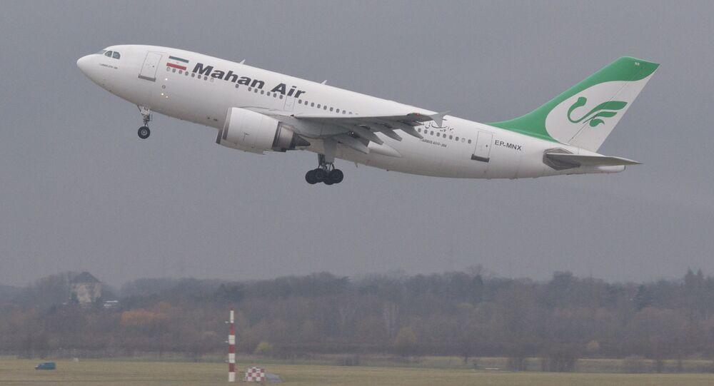 Letadlo společnosti Mahan Air