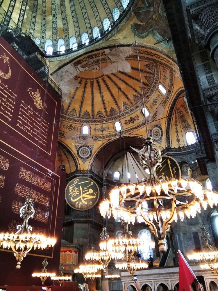 Historická událost: jak proběhla první modlitba po 86 letech v Chrámu Hagia Sofia v Istanbulu