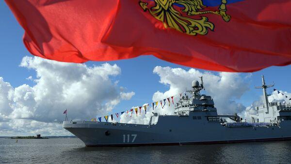 Ruské námořnictvo oslavuje svůj den - Sputnik Česká republika