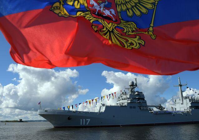Ruské námořnictvo oslavuje svůj den