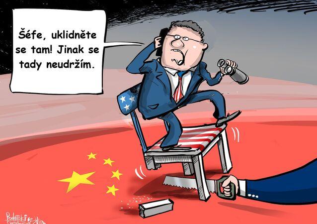 Čínské úřady uzavřely Generální konzulát Spojených států ve městě Čcheng-tu