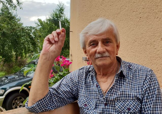 Hledač štěchovického pokladu Josef Mužík