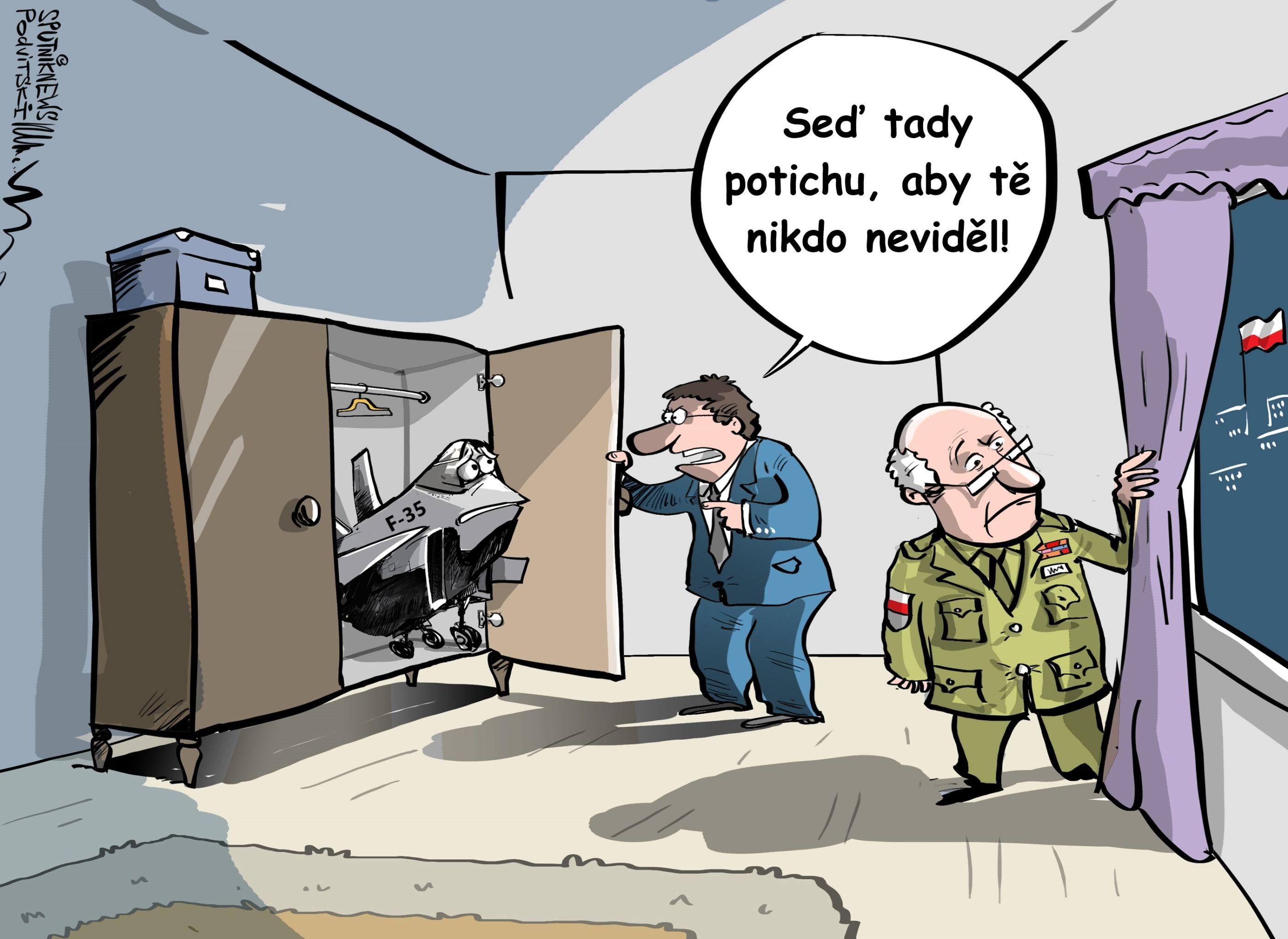 Polsko se rozhodlo, že neumístí  F-35 u hranice s Ruskem