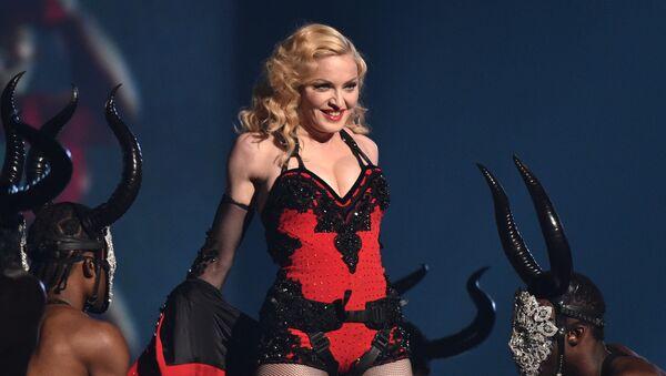 Zpěvačka Madonna v Los Angeles. 2015 - Sputnik Česká republika