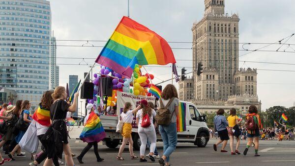 LGBT Pride Parade ve Varšavě - Sputnik Česká republika