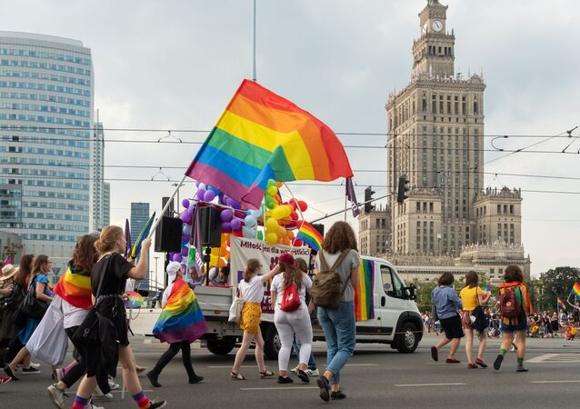 LGBT Pride Parade ve Varšavě
