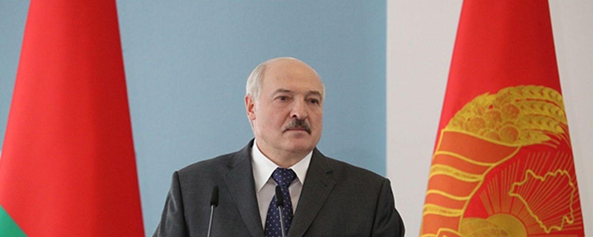 Běloruský prezident Alexandr Lukašenko - Sputnik Česká republika, 1920, 30.07.2021
