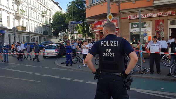 Neznámí pachatelé zaútočili na nákupní centrum v Berlíně - Sputnik Česká republika