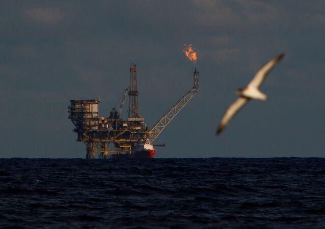 Ropná plošina v Libyi (ilustrační foto)