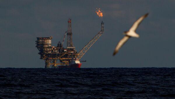Ropná plošina v Libyi (ilustrační foto) - Sputnik Česká republika