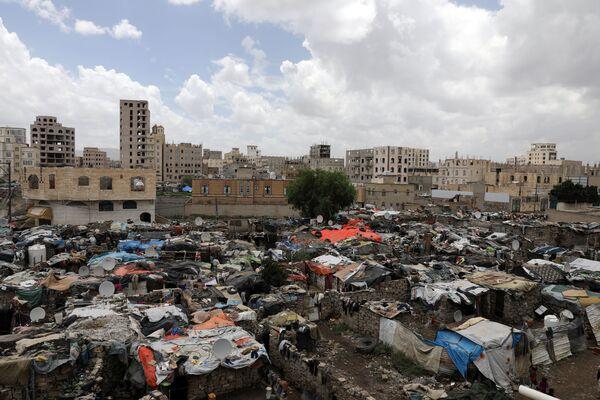 Slumy v hlavním městě San'á. - Sputnik Česká republika