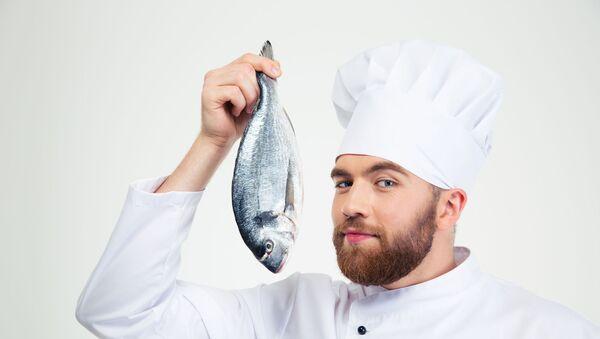 Kuchař s rybou - Sputnik Česká republika