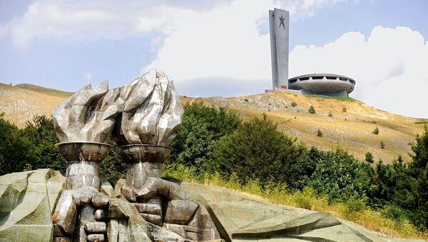 Památník Bulharské komunistické strany Buzludža - Sputnik Česká republika