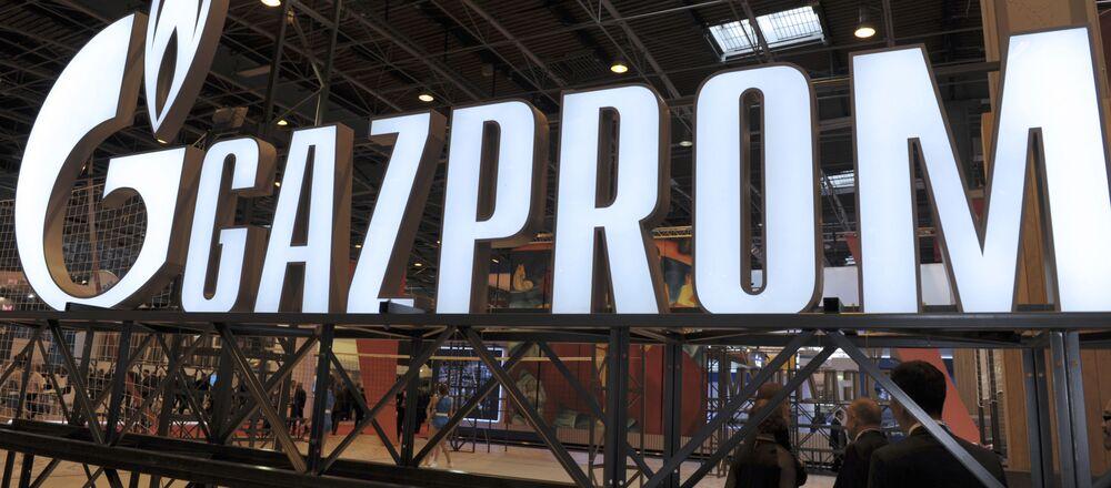 Logo společností Gazprom