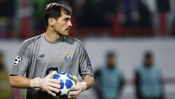 Iker Casillas - Sputnik Česká republika