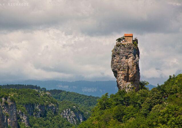 Katshijský pilíř, Gruzie