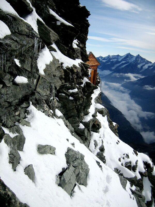 Chata Solvay na severovýchodním hřebeni Matterhornu - Sputnik Česká republika