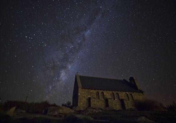 Jezero Tekapo na Novém Zélandu - Sputnik Česká republika