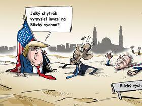 Trump označil invazi na Blízký východ za největší chybu v dějinách USA