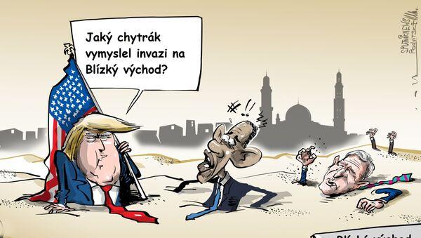 Trump označil invazi na Blízký východ za největší chybu v dějinách USA - Sputnik Česká republika