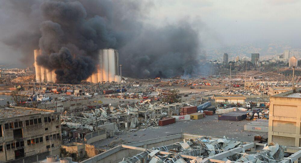 Exploze v Bejrútu