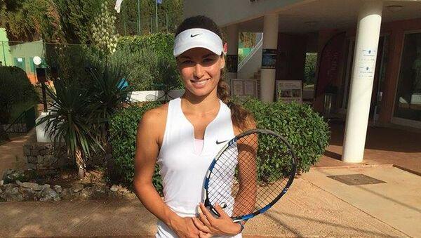 Tenistka Natália Vajdová - Sputnik Česká republika