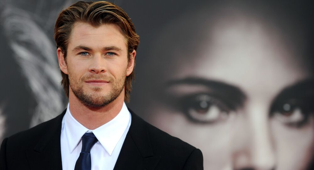 Herec Chris Hemsworth