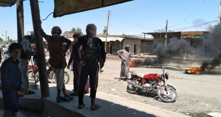 MěstoAlBusayrah se připojilo k demonstracím