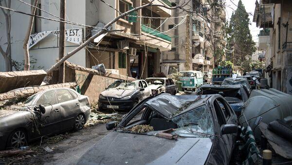 Následky výbuchu v Bejrútu - Sputnik Česká republika