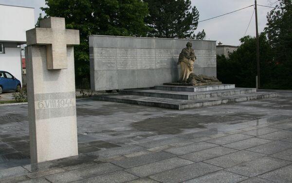 Památník vŽivoticích - Sputnik Česká republika