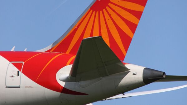 VT-ANL Boeing 788 Air India Tail. Ilustraní foto - Sputnik Česká republika