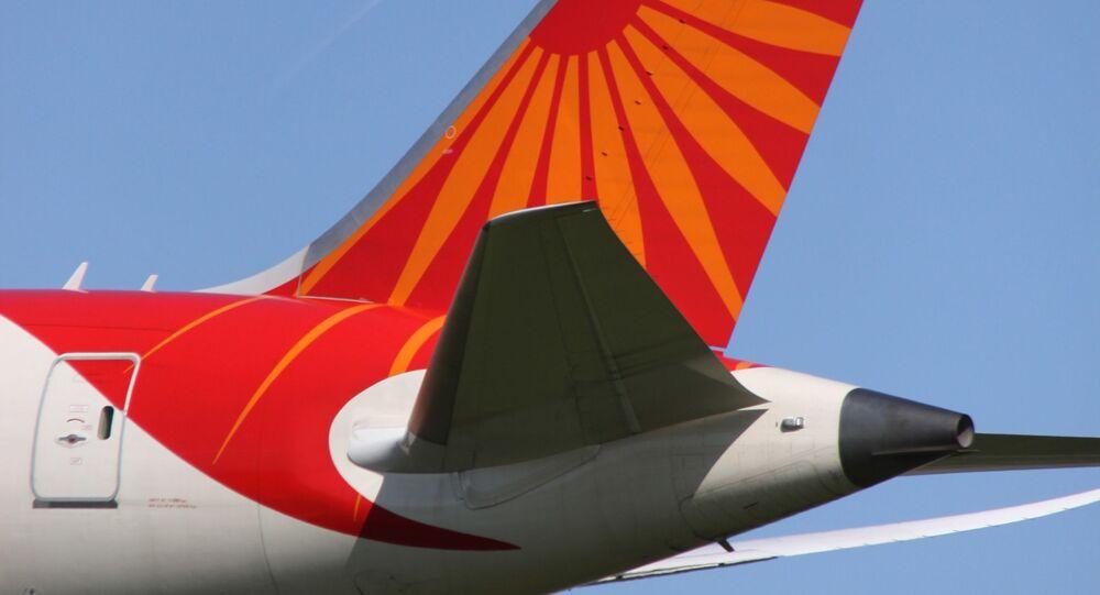 VT-ANL Boeing 788 Air India Tail. Ilustraní foto