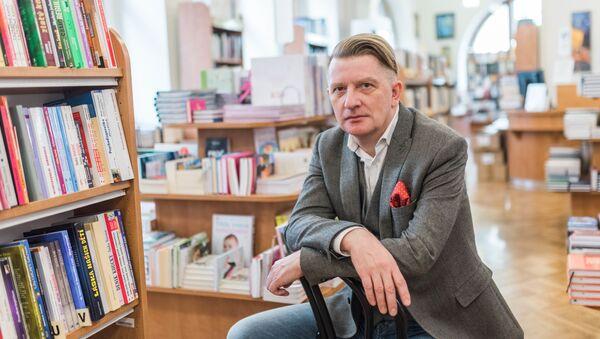 Český spisovatel, knihkupec a nakladatel Jiří Padevět - Sputnik Česká republika