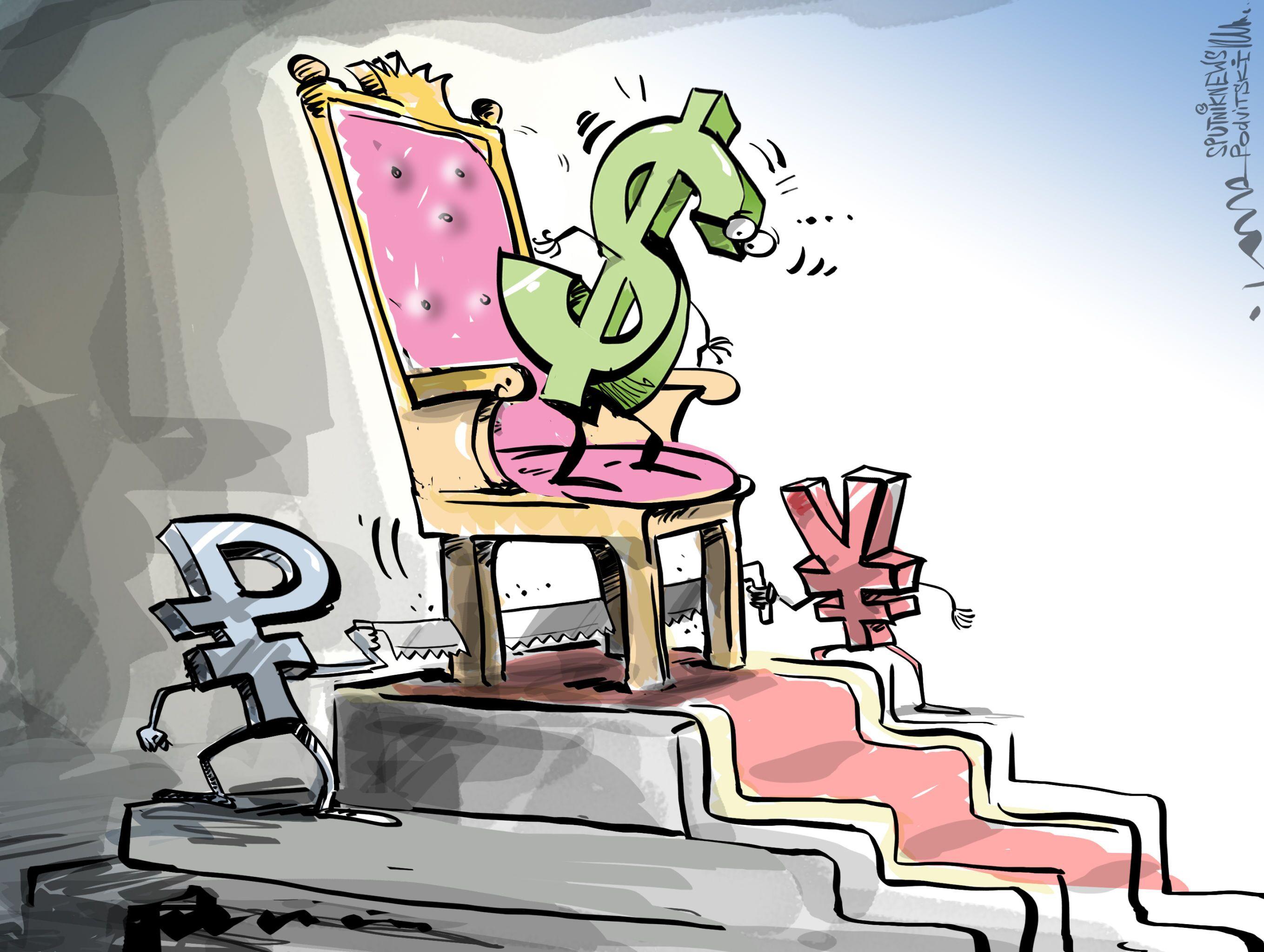 Antidolarová aliance Ruska a Číny ohrožuje měnovou hegemonii USA