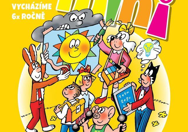 Obálka komiksu Čtyřlístek