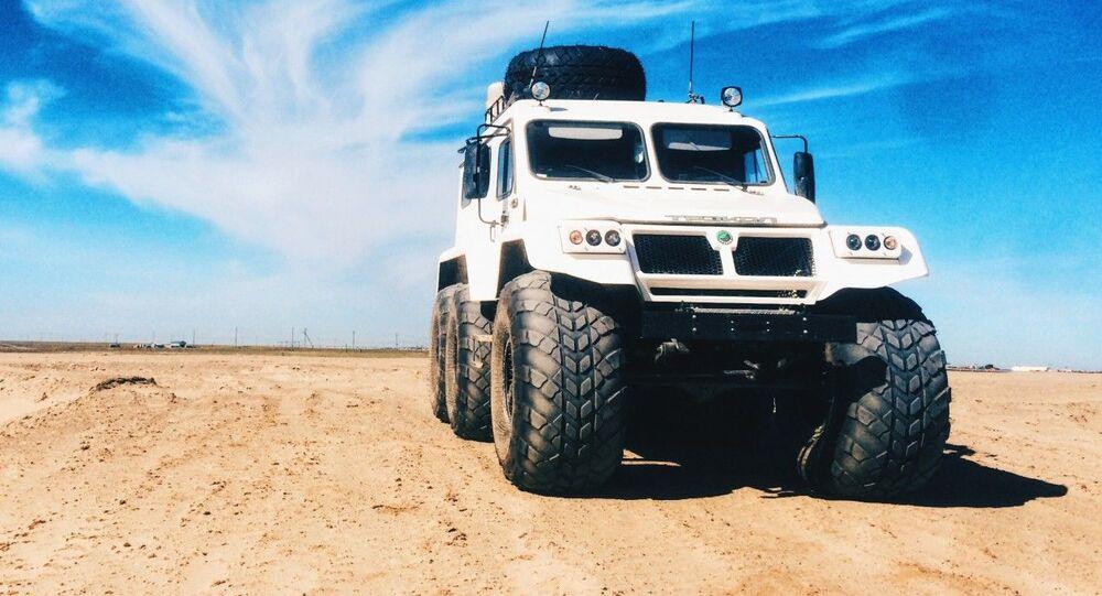 Ruské terénní vozidlo Trekol