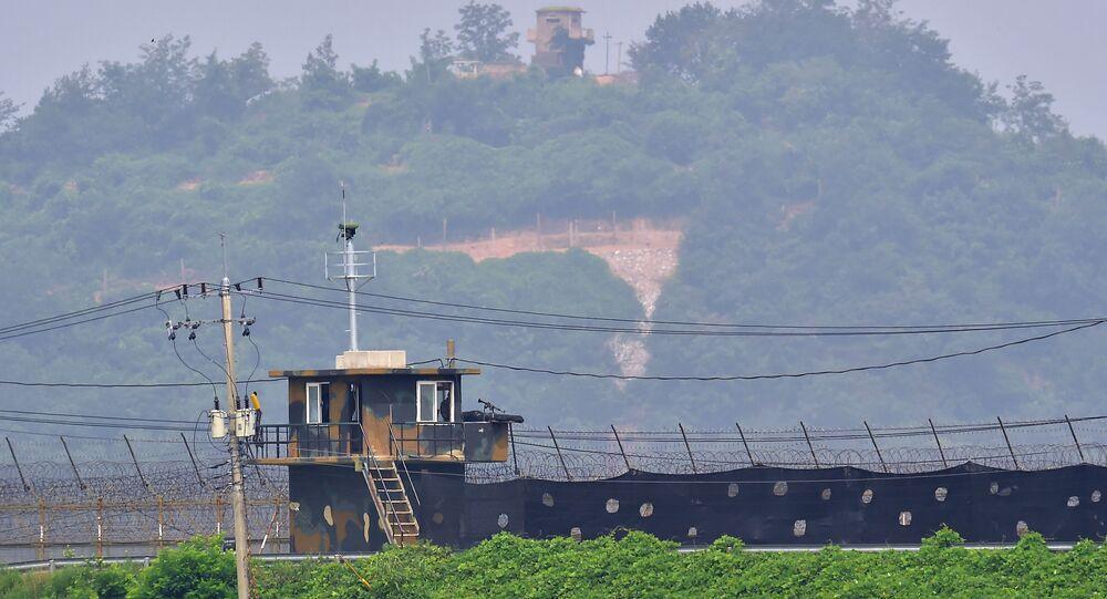 Pohraniční stráž Severní a Jižní Korei