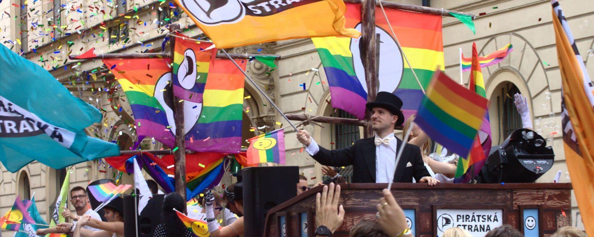 Prague Pride 2020 - Sputnik Česká republika, 1920, 30.04.2021