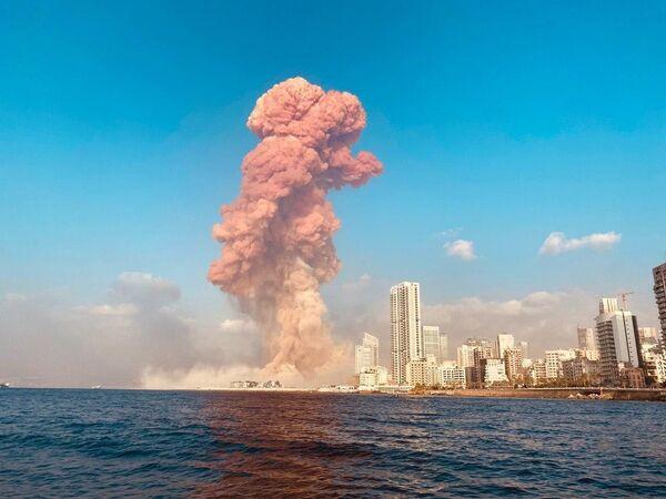 Výbuch v Bejrútu, Libanon - Sputnik Česká republika