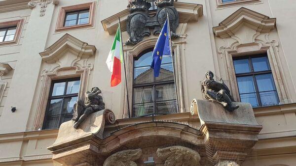 Italská ambasáda v Praze - Sputnik Česká republika