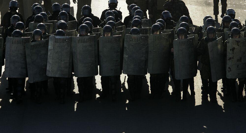 Běloruská policie
